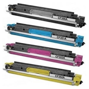 HP CF350A 130A Toner 代用碳粉 黑色 x 3
