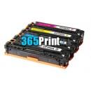 HP CF403X Toner 代用碳粉 紅色